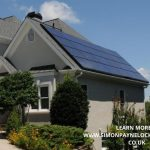 nice modern home after solar panel funding review seen